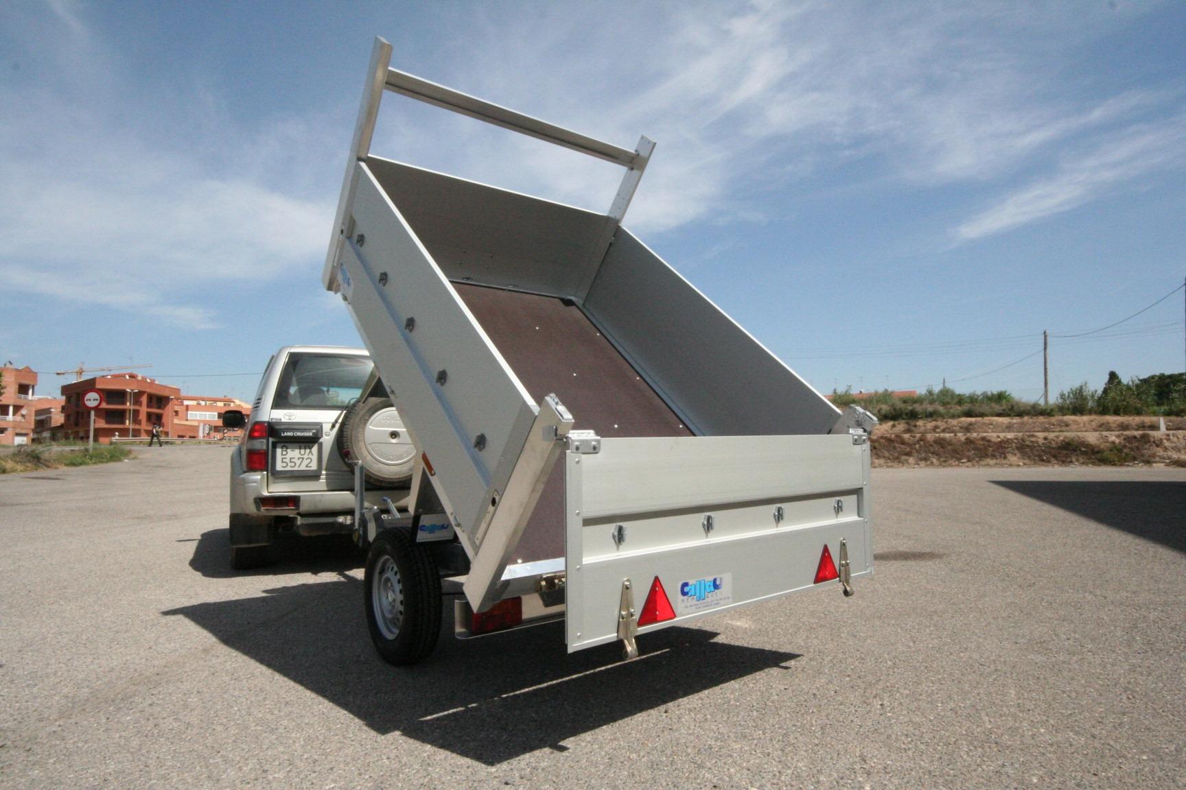 Remolque aluminio carga 1500mm